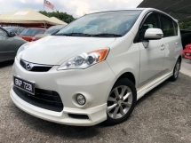 2009 PERODUA ALZA 1.5 EZ (A) NEW PAINT FULL SKIRTING