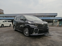 2015 TOYOTA VELLFIRE 2.5 ZG PILOT SEAT PRE CRASH UNREGISTERED