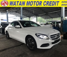 2014 MERCEDES-BENZ C-CLASS C200 2.0 AVANTGARDE PANORAMIC ROOF KEYLESS PUSHSTART REVERSE CAMERA 2014 UNREG FREE WARRANTY