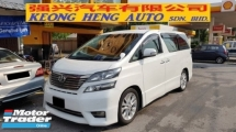 2010 TOYOTA VELLFIRE 3.5 V6Z G EDITION (A) REG 2014, ONE CAREFUL OWNER, HIGH SPEC, HOME THEATER SURROUND SYSTEM, POWER BOOT, PILOT SEAT, 100% ACCIDENT FREE, 18