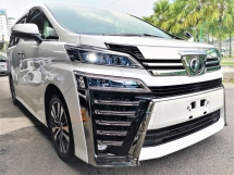 2018 TOYOTA VELLFIRE 2.5ZG Edition = MID YEAR SALE =
