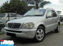 2005 MERCEDES-BENZ ML  ML350 3.7 V6 W163 Sunroof TipTOP LikeNEW Reg.2010