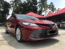 2018 TOYOTA CAMRY 2.5V(A)TEST DRIVE UNIT FOR SALES