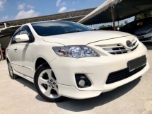 2012 TOYOTA ALTIS 1.8 G (A) FACELIFT FULL SPEC 7 SPEED VVTI