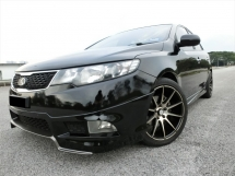 2011 KIA FORTE 2.0 6 SPEED (A) F-LOAN / 1 OWNER / PUSH START / LEATHER SEAT / REVERSE CAMERA / FULL SERVICE RECORD