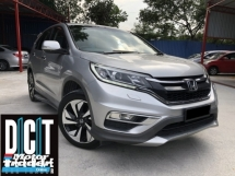 2016 HONDA CR-V CR-V FACELIFT 2.4 FULL SERVICE RECORD UNDER WARRANTY BY HONDA VERY RARE MODEL HONDA LANE WATCH SYSTEM