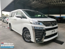 2018 TOYOTA VELLFIRE 2018 Toyota Vellfire 3.5 Executive Lounge Full Spec Unregister for sale