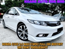 2013 HONDA CIVIC 2.0 NAVI F/SPEC F/BODYKIT ORI PAINT