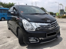2016 HYUNDAI GRAND STAREX 2.5 ROYALE DELUXE FULL SPEC (A) UNDER WARRANTY, FULL SERVICE, LIKE NEW CAR, 2 POWER DOOR, FULLY LEATHER