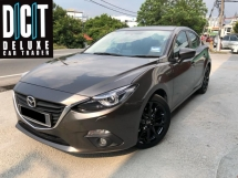 2016 MAZDA 3 SPORT 2.0 SDNHIGH SPEC LIMITED MODEL NEW CAR CONDITION FULL SERVICE RECORD TIPTOP CAR