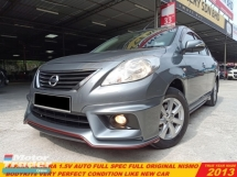 2013 NISSAN ALMERA 1.5 V (NISMO) (A) FULL SPEC LIKE NEW CAR