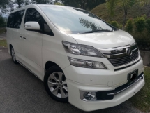 2014 TOYOTA VELLFIRE 3.5 VL FULL SPEC MODELISTA KIT SURROUND CAMERA