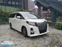 2015 TOYOTA ALPHARD Toyota Alphard SC. PRE-CRASH.ROOF TV. HIGH TRADE IN.