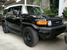 2014 TOYOTA FJ CRUISER (A TRAC) UNREG 4WD OFFROAD VEHICLE