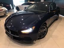 2014 MASERATI GHIBLI S *(IMPORT NEW CAR FROM NAZA)* (OTR) 3.0L V6 TWIN Turbocharged. 410BHP / 550Nm. SUNROOF. Ori MILEAGE. FULL Spec. BMW M5. M.BENZ E63.