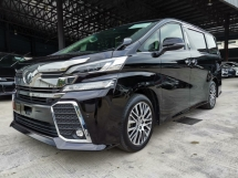 2016 TOYOTA VELLFIRE 2.5ZG Edition Alpine Pre Crash Unreg Sale Offer