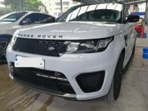 2017 LAND ROVER RANGE ROVER SPORT SVR 5.0 SUPERCHARGED V8 UNREG