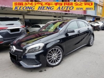 2017 MERCEDES-BENZ A-CLASS A200 AMG Hatchback New Facelift 1.6(A) Done 3.8k km Reg 18