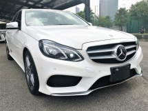 2014 MERCEDES-BENZ E-CLASS E250 AMG CLEAR STOCK UNIT WHITE & BLACK
