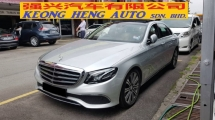 2016 MERCEDES-BENZ E-CLASS E250 AVANTGARDE 2.0cc (A) REG JAN 2017, ONE CAREFUL OWNER, FULL SERVICE RECORD, LOW MILEAGE DONE 45K KM, UNDER WARRANTY UNTIL JANUARY 2021