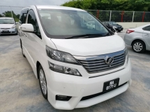 2010 TOYOTA VELLFIRE 2.4Z PLATINUM SELECTION