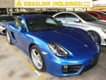 2015 PORSCHE CAYMAN 2.7 Choro Sport Bose Sound System Rear Camera Local AP Unreg