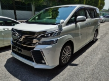 2016 TOYOTA VELLFIRE 2.5ZG Edition Roof Monitor Unreg Sale Offer