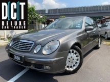 2006 MERCEDES-BENZ E-CLASS E240 Full Spec Avantgarde Nice Plate 3888 One Owner