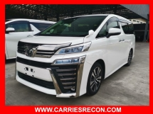 2018 TOYOTA VELLFIRE 2.5ZG Edition Unreg ( JAPAN SPEC - GOOD CONDITION.. MUST VIEW)
