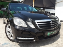 2011 MERCEDES-BENZ E-CLASS E250 CGI BLUE EFFICIENCY AVANTGARDE