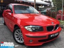 2006 BMW 1 SERIES 2006 BNW 116i 1.6 (M) 1 GOOD OWNER FULL SPEC