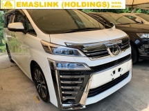 2018 TOYOTA VELLFIRE 2.5ZG(A)NEW 3LED FACELIFT SURROUND CAMERA ZG FULL LEATHER SEAT FULL SPEC