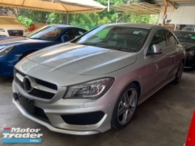 2016 MERCEDES-BENZ CLA 250 Amg sport package memory seats back camera push start keyless entry Japan unregistered