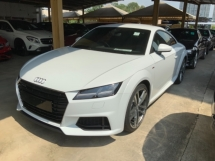 2015 AUDI TT 2.0 Quattro S Line coupe unregistered