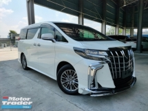 2018 TOYOTA ALPHARD 2018 Toyota Alphard 3.5 EL S Executive Lounge Full Spec Unregister for sale