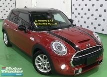 2014 MINI Cooper S 2014 MINI COOPER S 2.0A TWIN TURBO FACELIFT JAPAN SPEC CAR SELLING PRICE ONLY ( RM 135,000.00 NEGO )