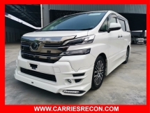 2015 TOYOTA VELLFIRE 2.5ZG (JBL SOUND/HOME THEATER/4 CAMERA/TRD BODYKIT) - UNREG JAPAN