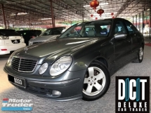 2007 MERCEDES-BENZ E-CLASS E240 AVANTGARDE LIMITED UNIT NICE NO 1 OWNER VIP LIKE NEW CONDITION