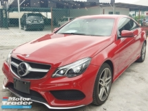 2014 MERCEDES-BENZ E-CLASS E250 CGI COUPE RECON~ 2.45%~interest