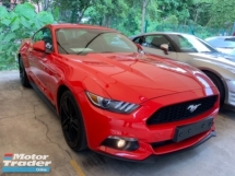 2016 FORD MUSTANG 2.3 ecoboost leather seat electric seat push start keyless unregistered