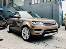 2015 LAND ROVER RANGE ROVER SPORT HSE 3.0 V6 SUPERCHARGED WITH MANY EXTRAS