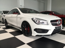 2014 MERCEDES-BENZ CLA 45 AMG Edition 1 AMG 2.0 4Matic