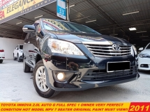 2011 TOYOTA INNOVA 2.0 G FACELIFT (A) HOT MODEL MPV LIKE NEW CAR
