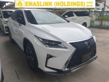 2016 LEXUS RX 200T F Sport Sunroof Power Boot Local AP Unreg