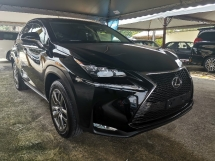 2016 LEXUS NX 200T 2.0 SUV I PACKER 3 EYE/BLACK INTERIOR/POWER BOOT UNREG