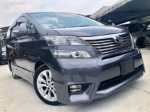 2013 TOYOTA VELLFIRE 2.4 ZP (A) FACELIFT FULL SPEC TWIN P/DOOR P/BOOT