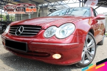 2005 MERCEDES-BENZ CLK Mercedes Benz CLK200 K 1.8 2DOOR CONVERTIBLE COUPE