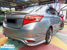2014 TOYOTA VIOS 1.5E (AT) NEW FACELIFT TRD BODYKIT DVD WARRANTY
