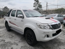 2016 TOYOTA HILUX 2.5 TRD SPORTIVO (A)DVD LEATHER SEAT