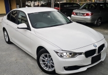 2014 BMW 3 SERIES 2014 BMW 320i LUXURY 2.0 TWIN POWER TURBO JAPAN SPEC UNREGISTERED SELLING PRICE RM 135,000.00 NEGO
